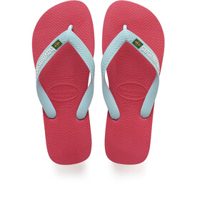havaianas Brasil Logo Sandalen rood
